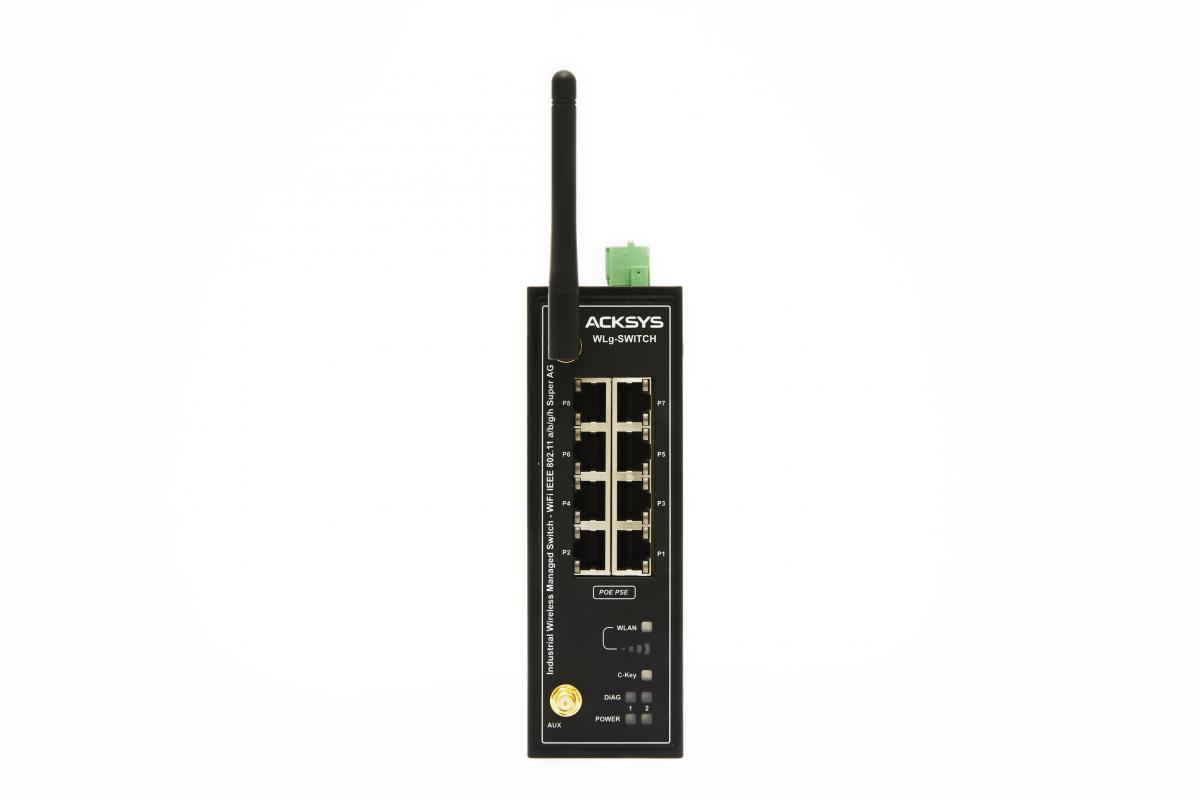 Industrial WiFi Ethernet switch, WLg-SWITCH | BESD