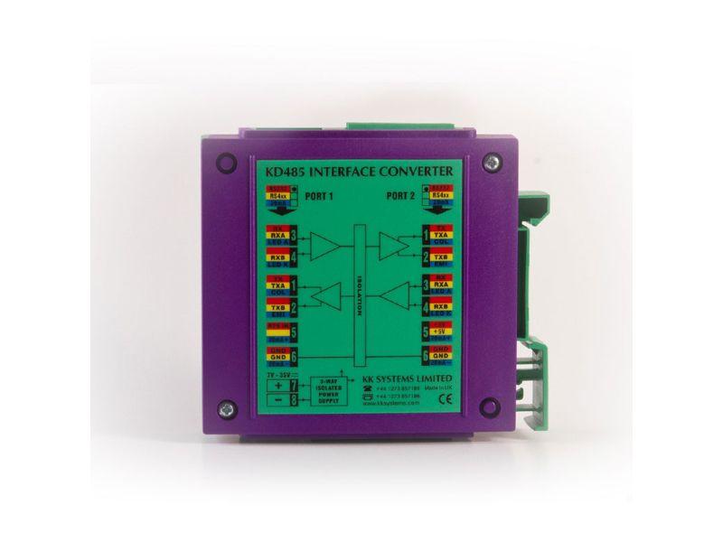 Serial port isolator, DIN-rail | BESD