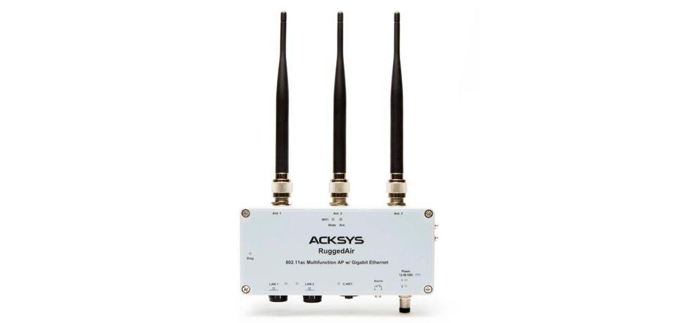 acksys WiFi access point RuggedAir1000