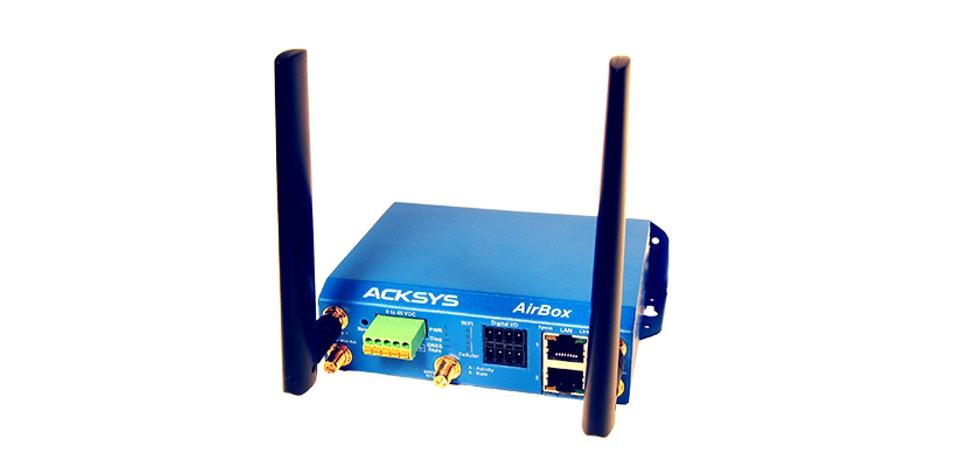 Industrial WiFi Access-Point/Bridge/Repeater with dual radio, AirBox
