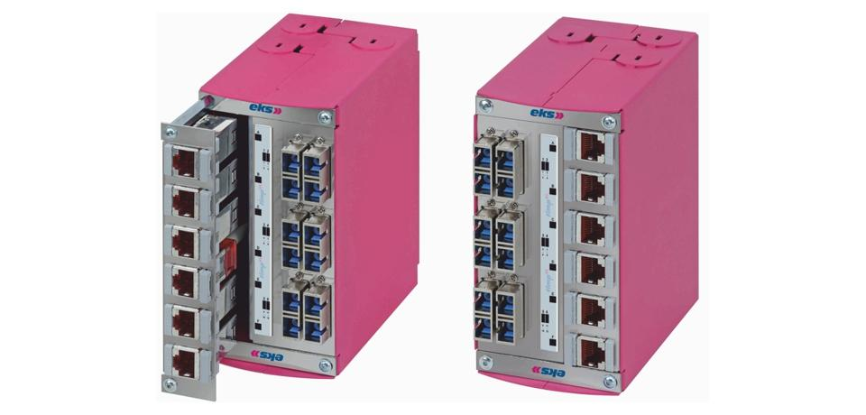Industrial splice box and patch panel, FIMP-XL-Hybrid
