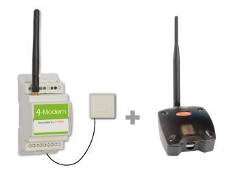 ZigBee naar ADSL modem, 4-MC-ADSL