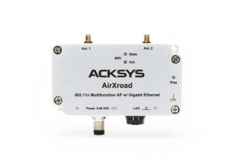 11n WiFi access point, Ethernet bridge, repeater & MESH point for automotive & heavy duty applications, AirXroad