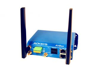 Industrial dual band/dual radio WiFi access point, AirBox