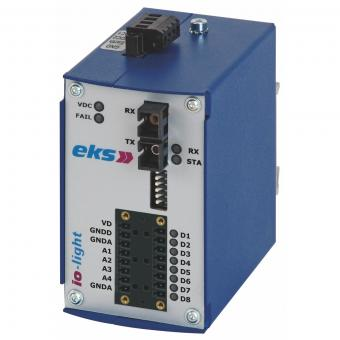 Analog and/or digital to POF fiber optic converter, IOL3000