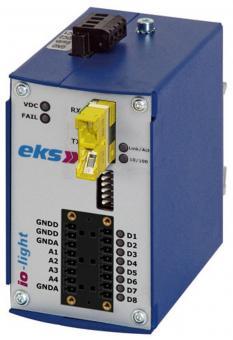 Analoog en/of digitaal naar SM glasvezel omvormer, IOL3000-E2000