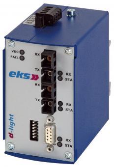 Profibus to fiber optic converter