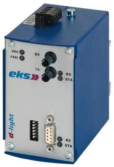 DL485 RS485 to POF or HCS converter with ST adapter