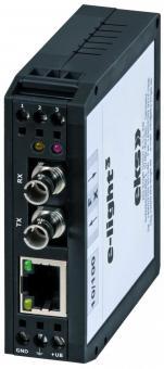 EL100-3U Ethernet media converter ST adapter