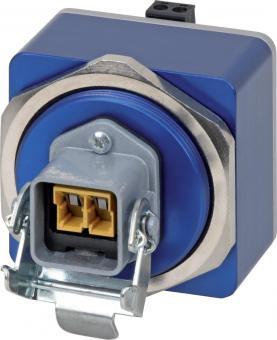 EL100-S Ethernet media converter in IP65 housing