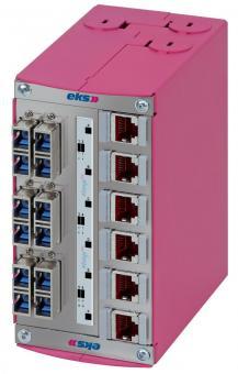 FIMP-XL-Hybrid, splitterbox en patch panel in een behuizing