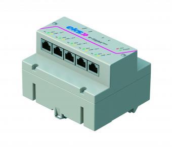5 poort unmanaged Ethernet switch, EL100-REG