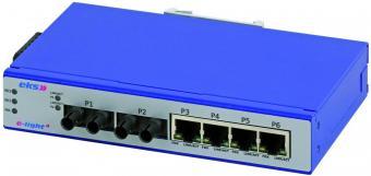 7 poort unmanaged Ethernet switches singlemode, EL100-4U