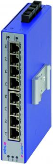 8 poort unmanaged Ethernet switches multimode, EL100-4U