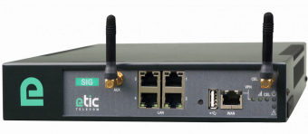 VPN server with Ethernet and 4G interface, SIG-EC-400-LE