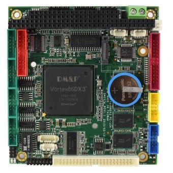 PC/104 CPU kaart, VDX3-6754