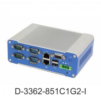 Industrial mini PC, D-3362-852C1G2-I front
