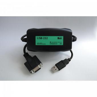 USB naar RS232 geïsoleerde omvormer, USB-232