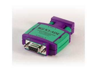 RS232 to RS422/RS485 isolated converter, K3-ADE