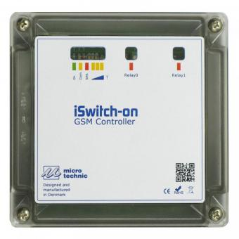 GSM remote I/O, iSwitch-on, IP55