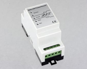 Digitale AC meter, PowerHouse DIN-rail