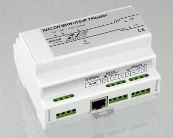 M-Bus to IP interface converter, MPW120/IP