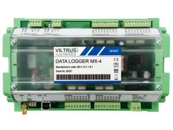 GPRS data logger with Modbus and M-Bus interface and Analog/Digital I/O, MX-4