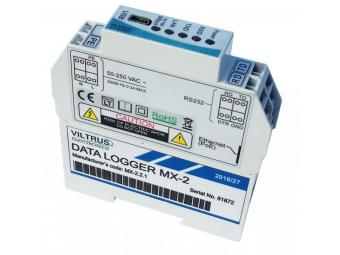Ethernet datalogger met Modbus interface, MX-2