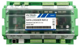 Ethernet data logger with digital I/O, RAY-2